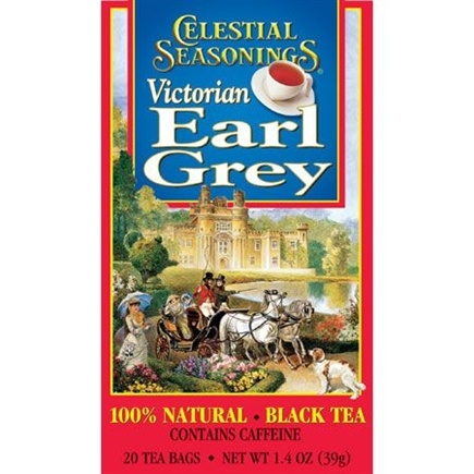 DROPPED: Celestial Seasonings - Victorian Earl Grey Black Tea - 20 Tea Bags