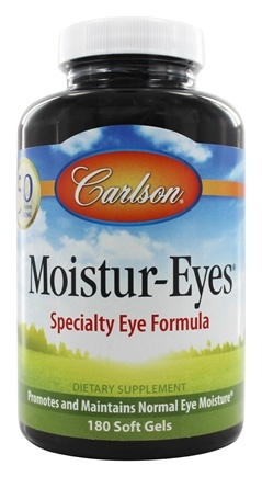 Carlson Labs - Moistur-Eyes - 180 Softgels