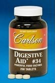 DROPPED: Carlson Labs - Digestive Aid #34 - 50 Tablets