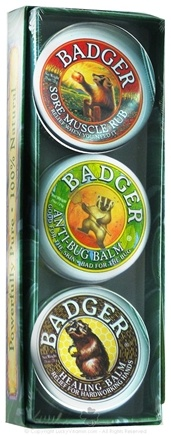 DROPPED: Badger - Balms for Gifted Gardeners Trio CLEARANCE PRICED - 3 Pack(s)