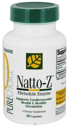 DROPPED: Baywood International - Natto-Z - 90 Capsules CLEARANCE PRICED