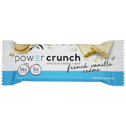 Power Crunch - High Protein Energy Wafer Bar French Vanilla Creme - 1.4 oz.