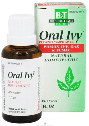 DROPPED: Boericke & Tafel - Oral Ivy - 1 oz. CLEARANCE PRICED