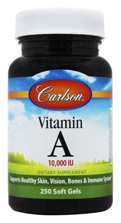 Carlson Labs - Vitamin A  10000 IU - 250 Softgels