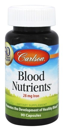 Carlson Labs - Blood Nutrients - 90 Capsules
