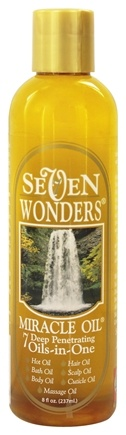 Century Systems - Seven Wonders Miracle Oil - 8 oz.