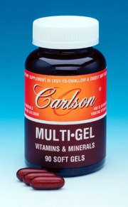 DROPPED: Carlson Labs - Multi-Gel Vitamins & Minerals - 180 Softgels