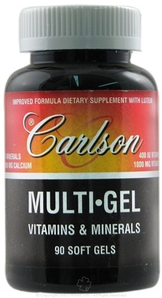 DROPPED: Carlson Labs - Multi-Gel Vitamins & Minerals - 90 Softgels