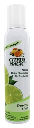 Citrus Magic - Odor Eliminating Air Freshener Tropical Lime - 3.5 oz.