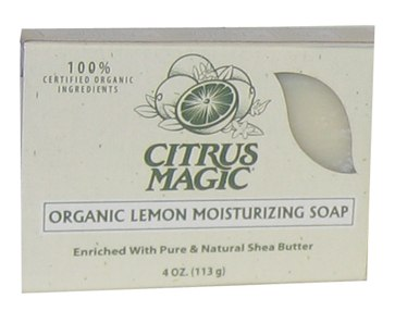 Zoom View - Organic Moisturizing Lemon Bar Soap CLEARANCE PRICED