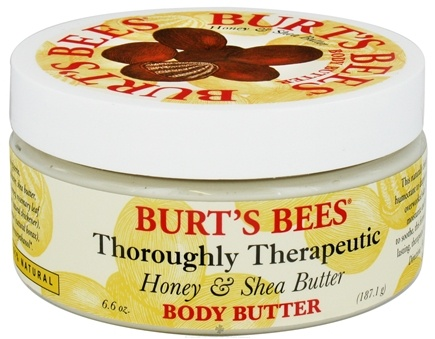 DROPPED: Burt's Bees - Body Butter Thoroughly Therapeutic Honey & Shea Butter - 6.6 oz.
