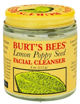 DROPPED: Burt's Bees - Facial Cleanser Lemon Poppy Seed - 4 oz. CLEARANCE PRICED