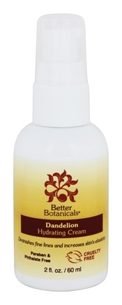 Better Botanicals - Dandelion Hydrating Cream - 2 oz.
