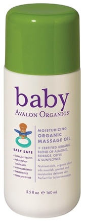 Zoom View - Baby Massage Oil Moisturizing Organic
