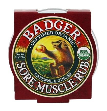 DROPPED: Badger - Sore Muscle Rub - 0.75 oz. CLEARANCE PRICED
