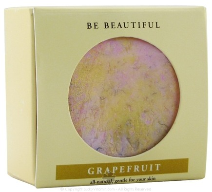 DROPPED: Beautiful Soap & Co. - Bar Soap Grapefruit - 4 Oz.