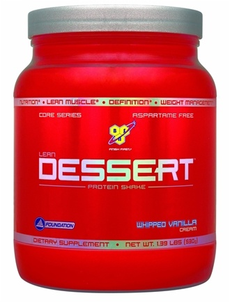DROPPED: BSN - Lean Dessert Protein Shake Whipped Vanilla - 1.39 lbs.