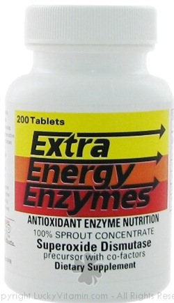 DROPPED: Biotec Foods - Extra Energy Enzymes - 200 Tablets