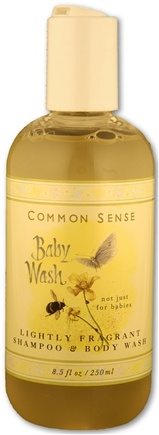 DROPPED: Common Sense Farm - Baby Hair & Body Wash - 8.5 Oz. CLEARANCE PRICED
