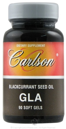 DROPPED: Carlson Labs - GLA from Black Currant Seed Oil - 90 Softgels