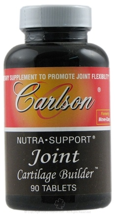 DROPPED: Carlson Labs - Nutra-Support Joint Cartilage Builder - 90 Tablets