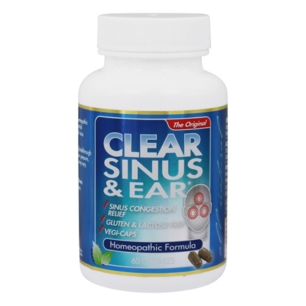 Zoom View - Clear Sinus & Ear Homeopathic/Herbal Relief Formula