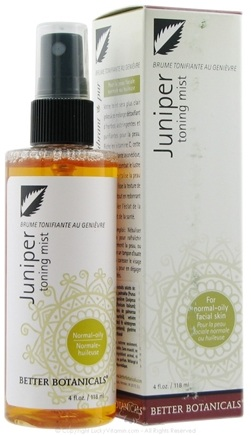 DROPPED: Better Botanicals - Juniper Balancing Mist - 4 oz. CLEARANCE PRICED