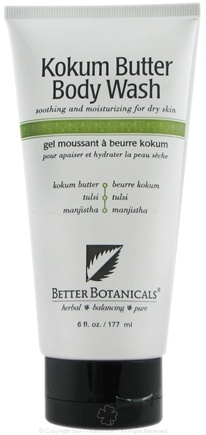 DROPPED: Better Botanicals - Kokum Butter Body Wash - 8 oz. CLEARANCE PRICED