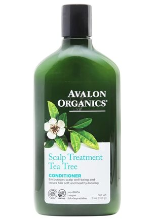 DROPPED: Avalon Organics - Conditioner Scalp Treatment Tea Tree - 11 oz.