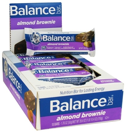 DROPPED: Balance - Nutrition Energy Bar Original Almond Brownie - 1.76 oz. CLEARANCE PRICED