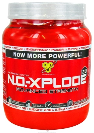 DROPPED: BSN - NO-Xplode 2.0 Advanced Strength Fruit Punch - 2.48 lbs.