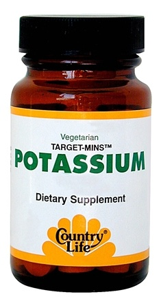 DROPPED: Country Life - Target-Mins Potassium - 90 Tablets CLEARANCE PRICED