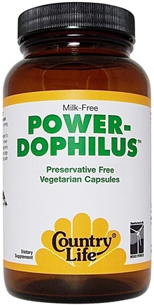 DROPPED: Country Life - Power-Dophilus - 50 Vegetarian Capsules