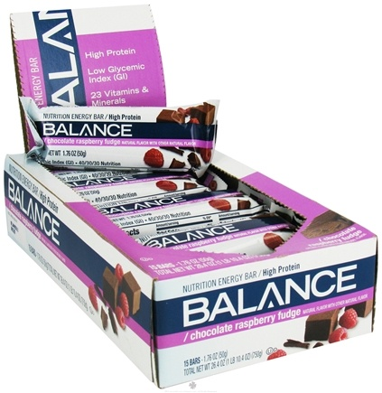 DROPPED: Balance - Nutrition Energy Bar Original Chocolate Raspberry Fudge - 1.76 oz.