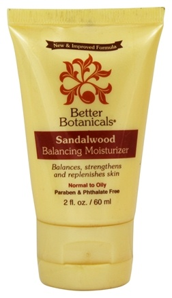 DROPPED: Better Botanicals - Sandalwood Balancing Moisturizer - 2 oz.