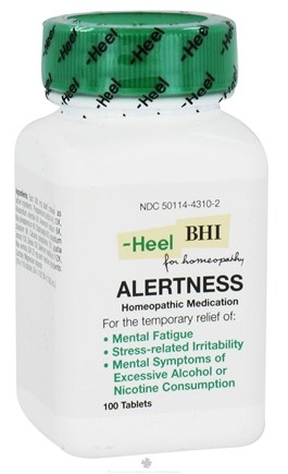 DROPPED: BHI/Heel - Alertness - 100 Tablets CLEARANCE PRICED