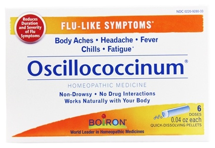 Zoom View - Oscillococcinum Quick-Dissolving Pellets for Flu-Like Symptoms
