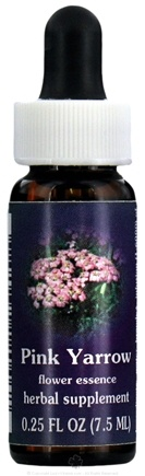 DROPPED: Flower Essence Services - Pink Yarrow Flower Essence - 0.25 oz. CLEARANCE PRICED