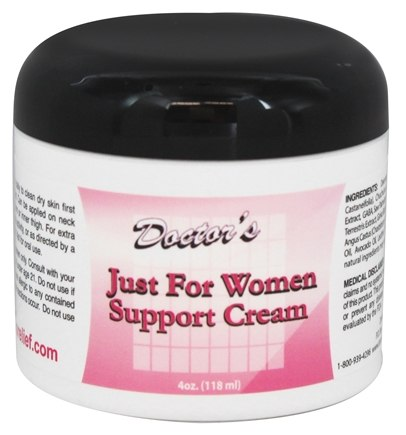 Fountain of Youth Technologies - Doctor's Just For Women Support Cream - 4 oz. (formerly Testosterone Gel Liposome)