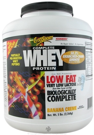 DROPPED: Cytosport - Complete Whey Protein Banana Creme - 5 lbs.