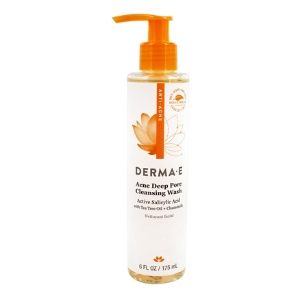 Derma-E - Very Clear Acne Cleanser - 6 oz. Formerly Problem Skin Cleanser