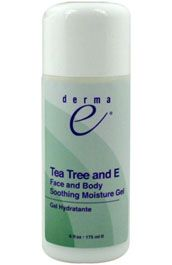 DROPPED: Derma-E - Face and Body Soothing Moisture Gel Tea Tree and E - 6 oz.