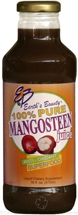 DROPPED: Earth's Bounty - Mangosteen Juice 100% Pure - 16 oz. CLEARANCE PRICED