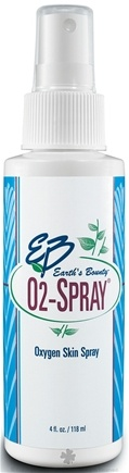 DROPPED: Earth's Bounty - O2 Spray Oxygen Skin Spray - 4 oz.