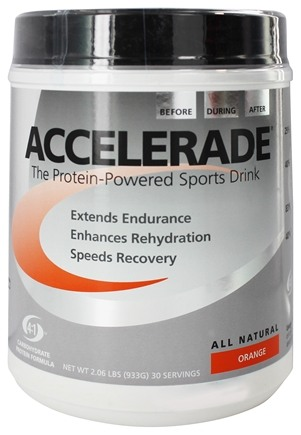 Endurox - Accelerade Advanced Sports Drink Orange - 2.06 lbs.