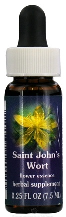 DROPPED: Flower Essence Services - Saint John's Wort Flower Essence - 0.25 oz. CLEARANCE PRICED