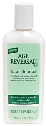 DROPPED: Desert Essence - Age Reversal Face Cleanser - 6 oz.