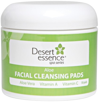 DROPPED: Desert Essence - Aloe Facial Cleansing Pads - 50 Pad(s)