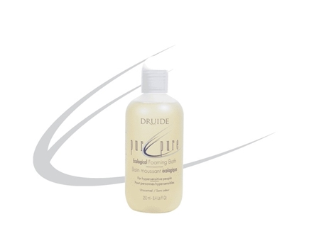 DROPPED: Druide Body Care - Unscented Ecological Foaming Bath - 8.4 oz.