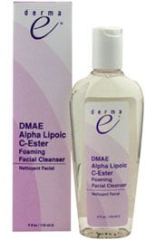 DROPPED: Derma-E - DMAE - Alpha Lipoic - C-Ester Foaming Facial Cleanser - 4 oz.